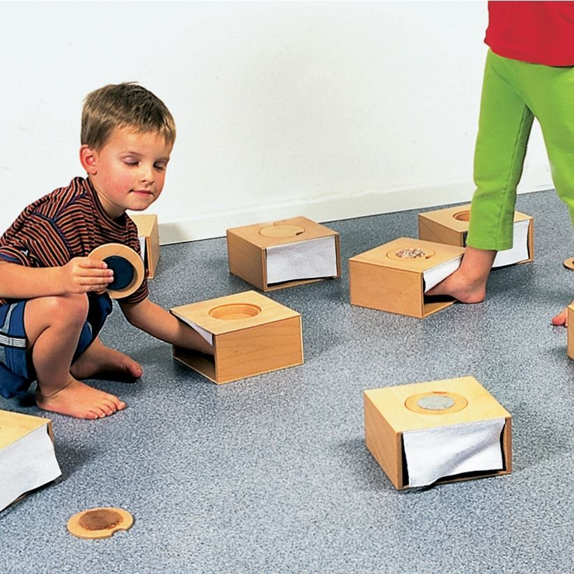 Feelie Tactile Boxes, set of 10