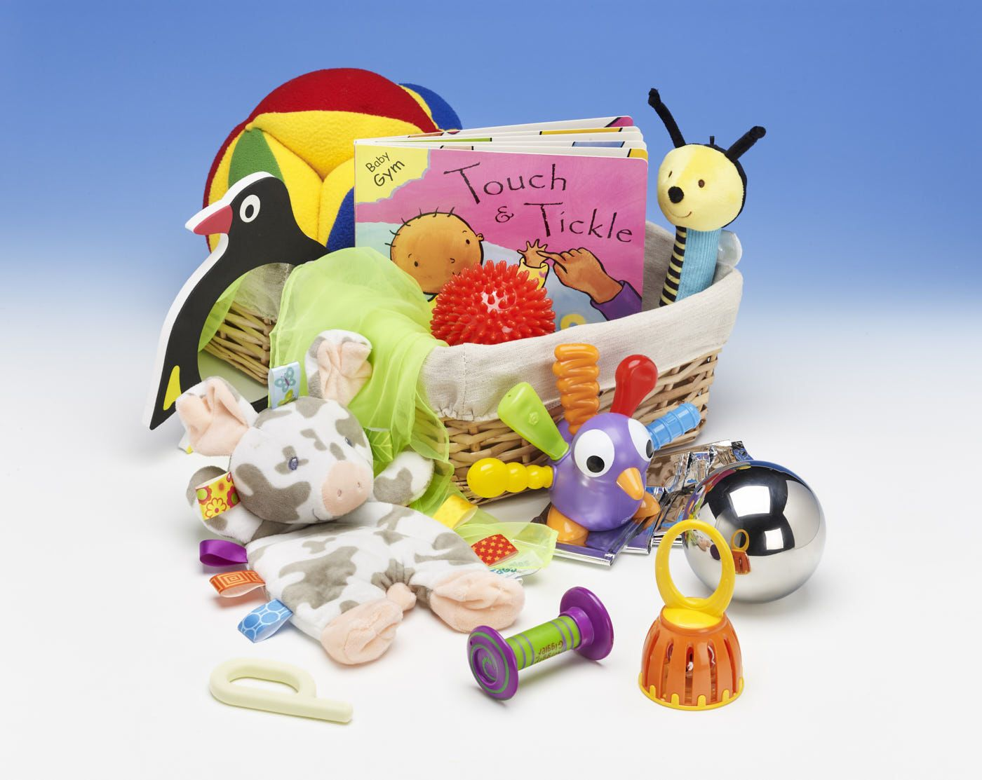 Early Stages Sensory Experiences Basket