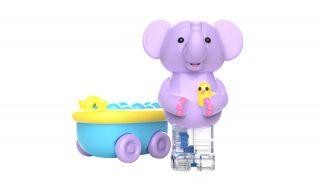 Zoomigos - Elephant & Bathtub Car