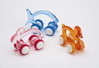 Animal Four Wheel Massagers, set of 3
