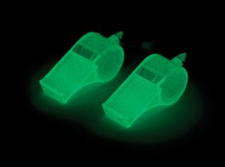 Glow In The Dark Whistle, Set of 2
