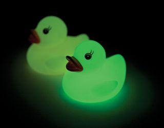 Glow In The Dark Ducks, set of 2