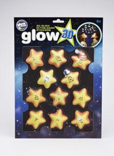 Glow 3D Funny Stars