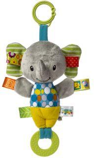 Taggies Crinkle Me Squeaker Elephant