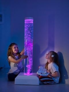 Wire-Free Interactive Bubble Tube Including Button Switch - 1.5 Metre