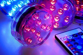 Dark Den Calming LED Disc Lamp - spa lights