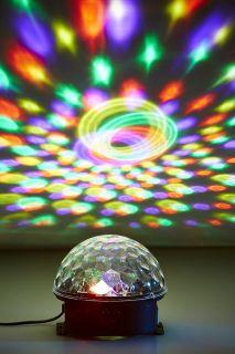 Crystal Music Ball Light