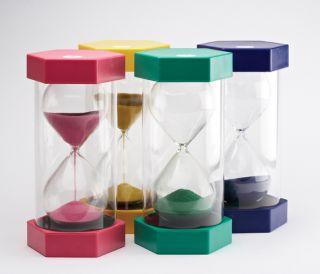 Sand Timer - MEGA - set of 4