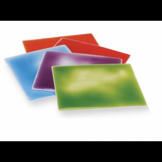 Finger Colour Squares - set of 5