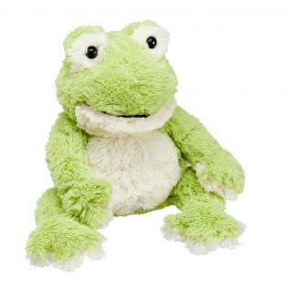 Heat Up Cosy Warmie - Finn the Frog - weighted at 2lbs