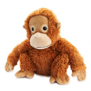Heat Up Cosy Warmie - Olive the Orangutan - weighted at 2lbs