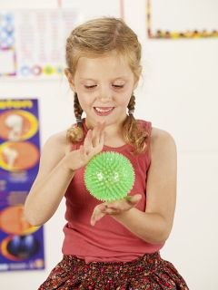 Mega Flashing Spiky Ball