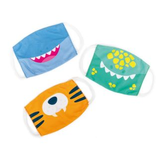 Kids Face Masks - 3 piece set - different characters available