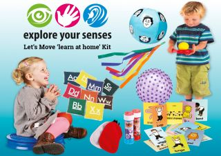 Let's Move 'LEARN AT HOME' Kit
