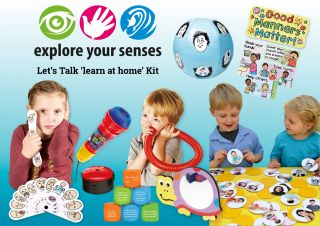 Let's Talk 'LEARN AT HOME' Kit