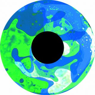 "6"" Effect Wheel - Liquid Blue/Green"
