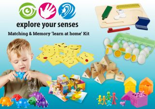 Matching & Memory 'LEARN AT HOME' Kit