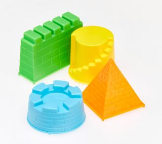 Sand Castle Mould Set - ideal for Magic Motion Sand