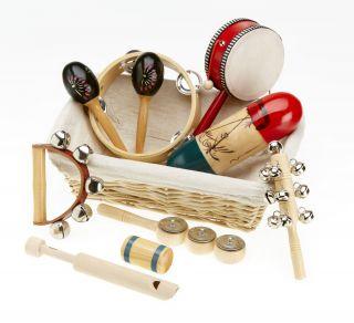 Natural Children's Percussion Basket