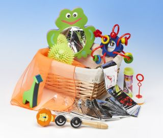 'New Babes' First Discoveries Basket
