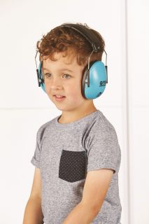 Children's Ear Defenders - available in three colours - Protection from the noise of concerts, fireworks & busy crowds