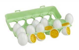 Number Match Eggs Pk 12