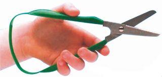 Easi-Grip Scissors - 45mm Round Blade - LEFT HANDED