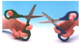Self Opening Scissors - 45mm Round Blade - RIGHT HANDED
