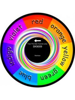 "6"" Effect Wheel - Rainbow"