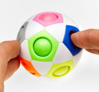 Rainbow Finger Fidget Ball