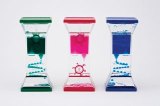 Liquid Visual Timers, set of 3