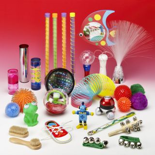 All Senses Sensory Exploration Bag - REVISED CONTENT! See our video of suggested product uses!