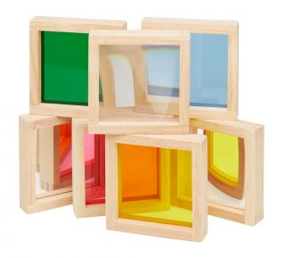 Wooden Sensory Squares