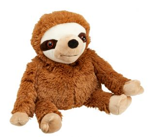 Heat Up Cosy Warmie - Seth the Sloth - weighted at 2lbs