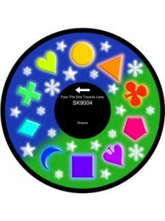 "6"" Effect Wheel - Shapes"