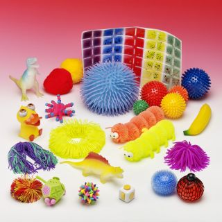Touch & Squeeze Exploration Bag - NEW REVISED CONTENTS! - see our video of content suggestions!
