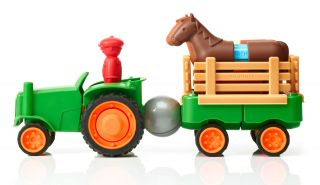 Smartmax Magnetic First Tractor Set