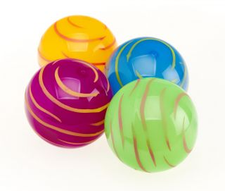 Flashing Zebra Ball